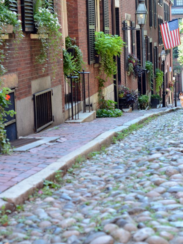 acorn street boston beacon hill