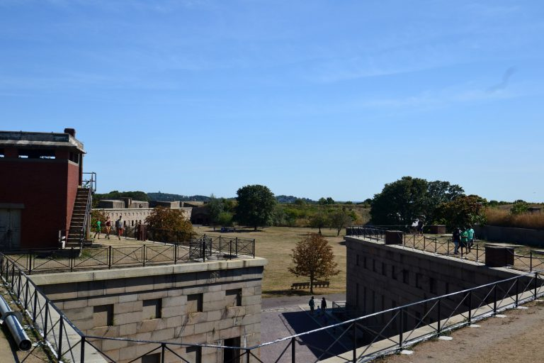 boston harbor islands fort warren