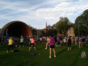 zumba boston hatch shell