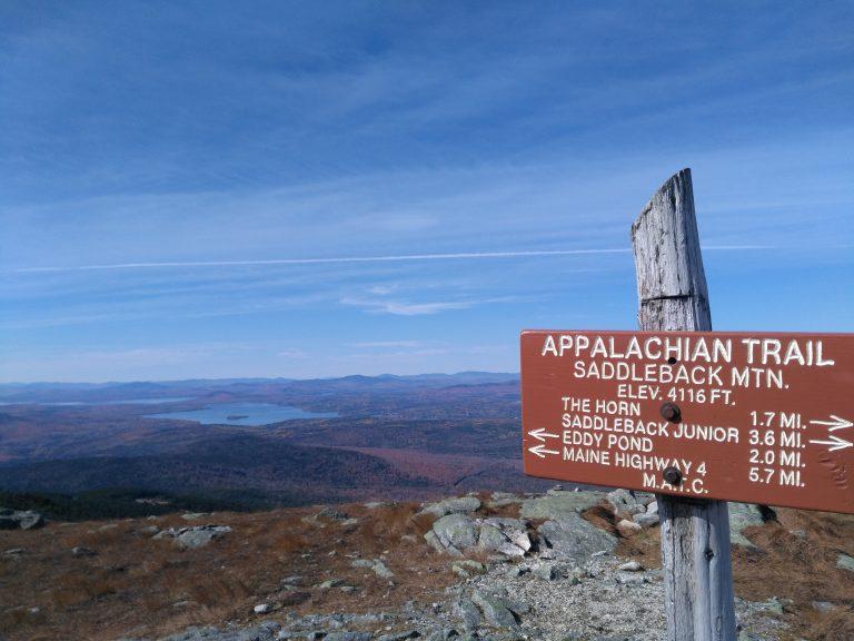 Appalachian Trail Saddleback mountain maine