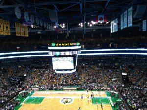 Celtics game Boston
