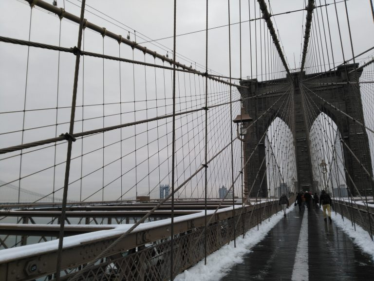 Brooklyn Bridge, New York, Lianne Schilderink,