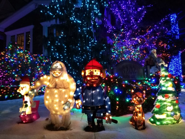 Dyker Heights, New York, christmas lights