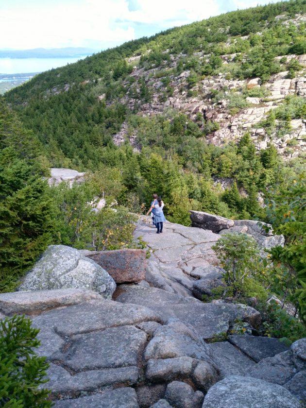 Gorge trail cadillac mountain